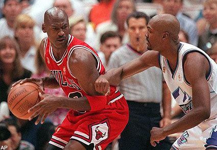 Bryon Russell Bryon Russell Not a Fan of Jordan39s Speech SBNationcom
