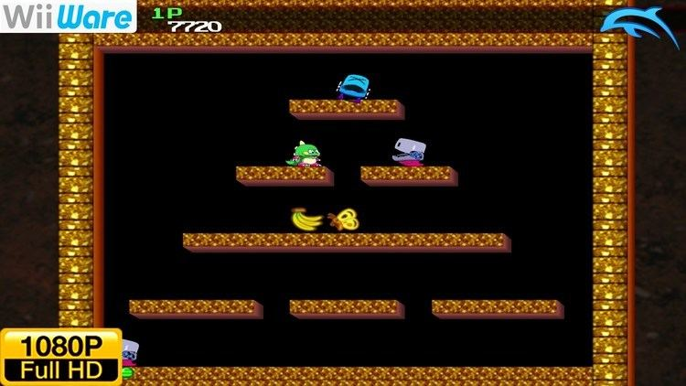 Bubble Bobble Plus! Bubble Bobble Plus WiiWare Wii Gameplay 1080p Dolphin GCWii