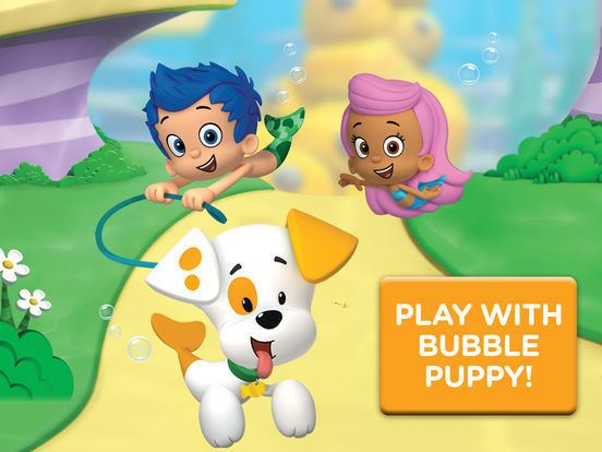 Bubble Puppy Bubble Puppy Play and Learn for iPad Bubble Guppies Kids Game on