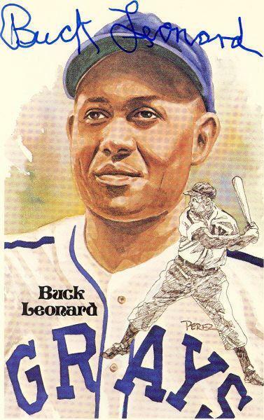 Buck Leonard Autographed Baseballs