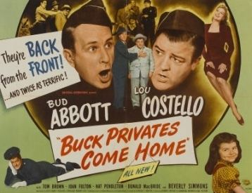 Buck Privates Come Home The Age of Comedy Buck Privates Come Home