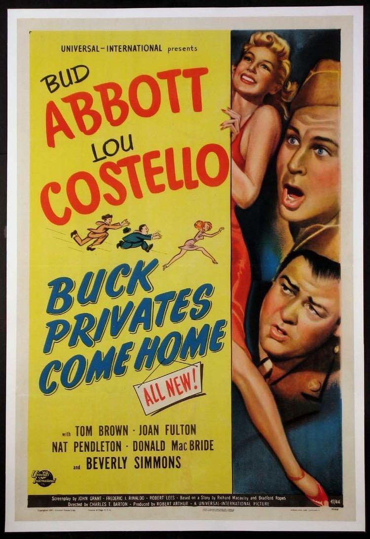 Buck Privates Come Home Buck Privates Come Home 1947 poster planetofpop Abbott