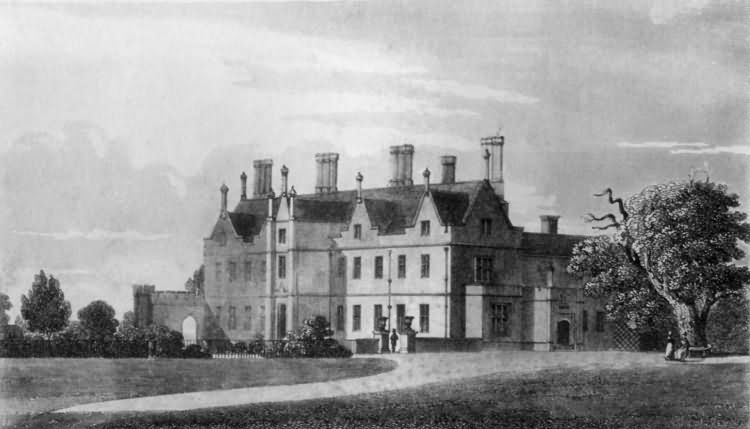 Buckhurst Park, Sussex The Weald Paintings pictures photographs and engravings