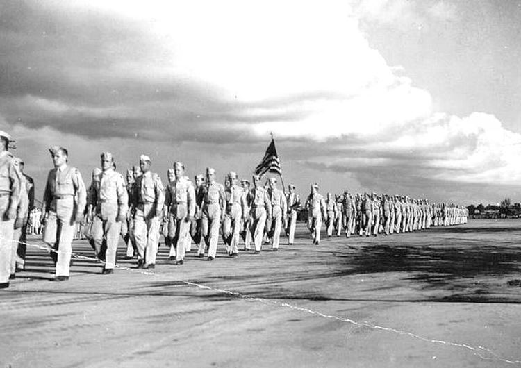 Buckingham Army Airfield FileBuckingham Army Airfield graduation parade 1944jpg Wikipedia