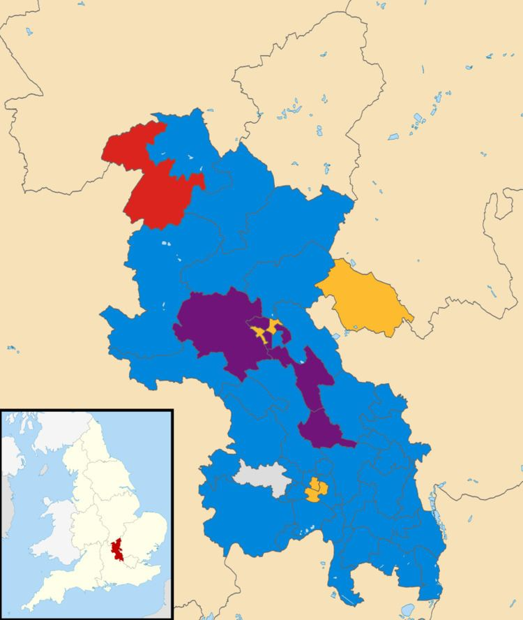 Buckinghamshire County Council election, 2013