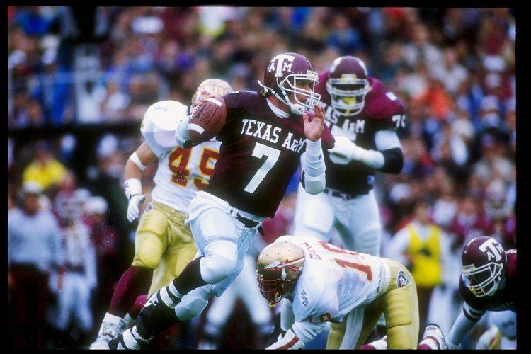 Bucky Richardson College Sports ExTexas AM NFL quarterback Bucky Richardson