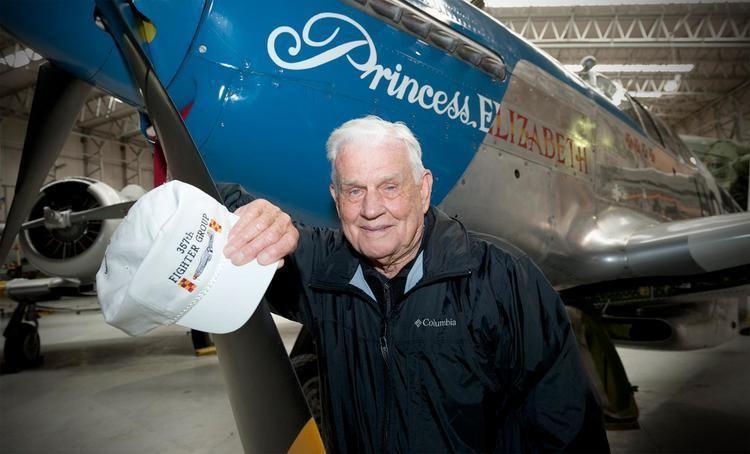 Bud Anderson Bud Andersonato atttend Pacific Aviation Museum Pearl Harbor Gala
