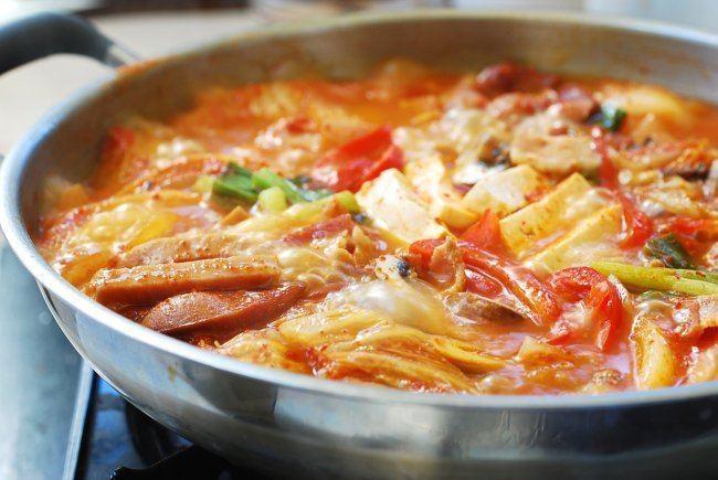 Budae-jjigae Budae Jjigae Army Stew Korean Bapsang