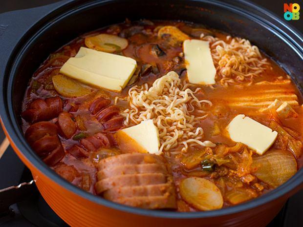 Budae-jjigae Korean Army Base Stew Budae Jjigae