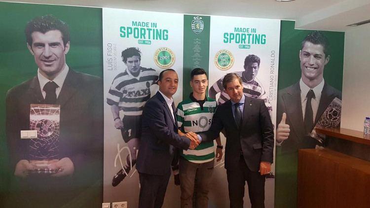 Budag Nasirov Azerbaijani player transferred to Portuguese Sporting first team