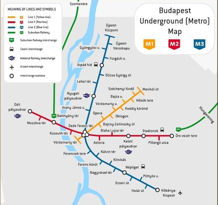 Budapest Metro plan metro budapest Williamjs39s Blog