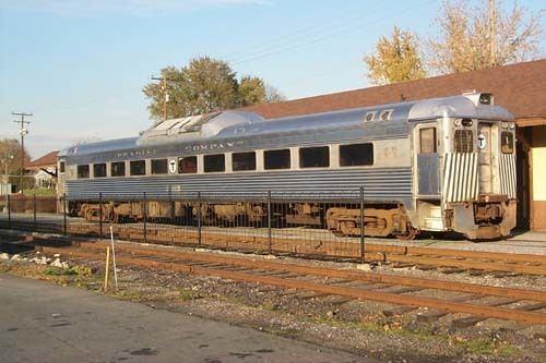 Budd Rail Diesel Car RCTampHS RosterPassenger Equipment
