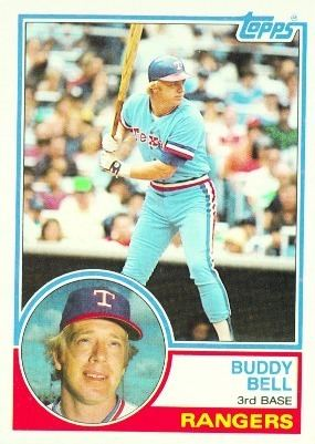 Buddy Bell 1983 Topps Blog 330 Buddy Bell Texas Rangers