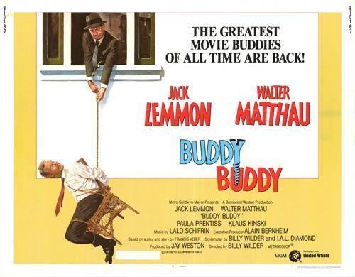 Buddy Buddy Buddy Buddy movie posters at movie poster warehouse moviepostercom