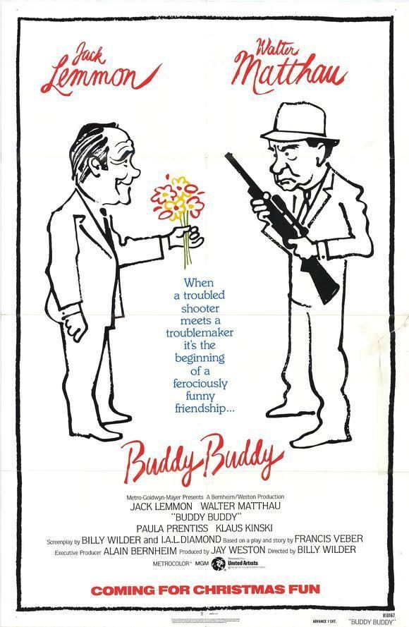 Buddy Buddy All Movie Posters and Prints for Buddy Buddy JoBlo Posters