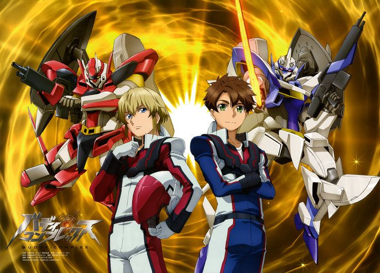 Buddy Complex They Refer To It As Gay Gundam Anime Review Buddy Complex And
