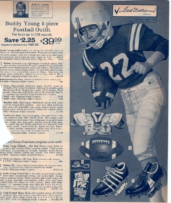Buddy Young It Came From the 1971 Sears Catalog Sports Leisure and