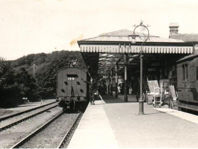 Bude railway station Railway Bude Past and Present