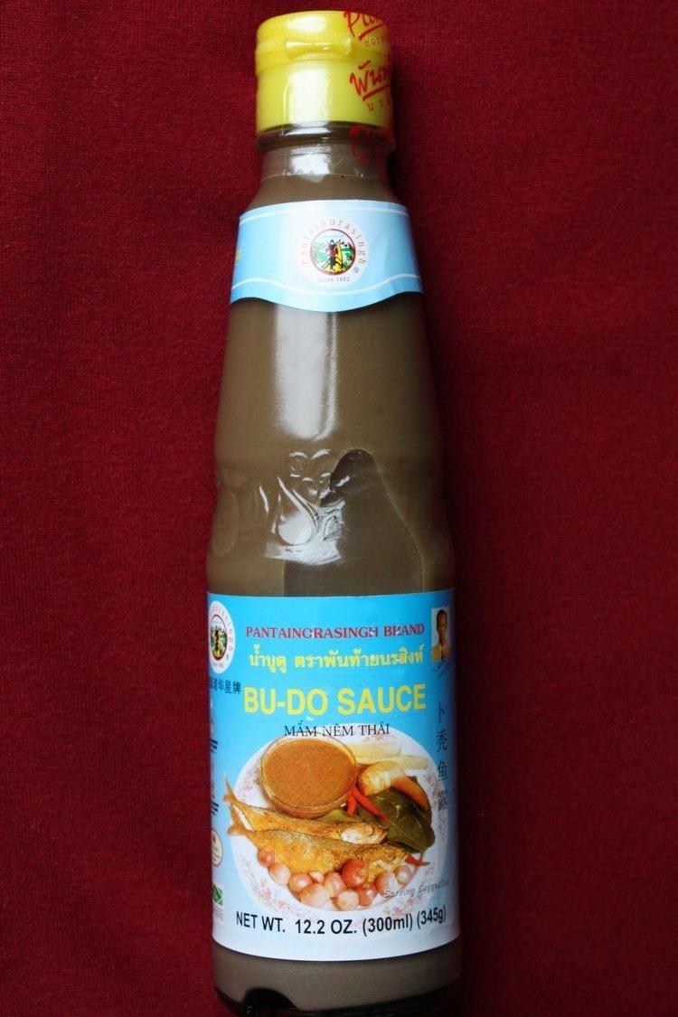 Budu (sauce) Southern Thai Fish Sauce Nam Bu Du SheSimmers