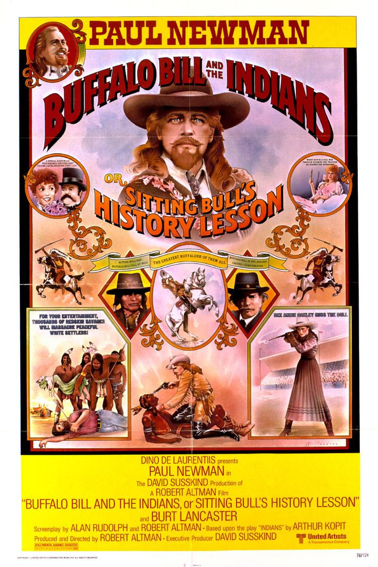 Buffalo Bill and the Indians, or Sitting Bull's History Lesson wwwgstaticcomtvthumbmovieposters45275p45275