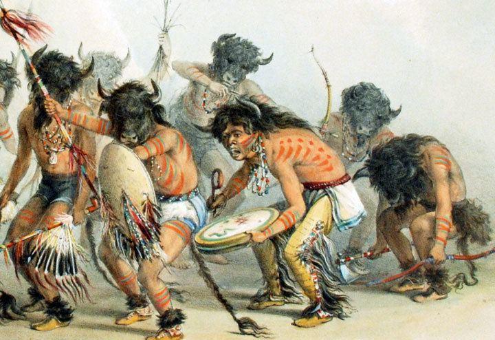 Buffalo dance Buffalo Dance George CATLIN
