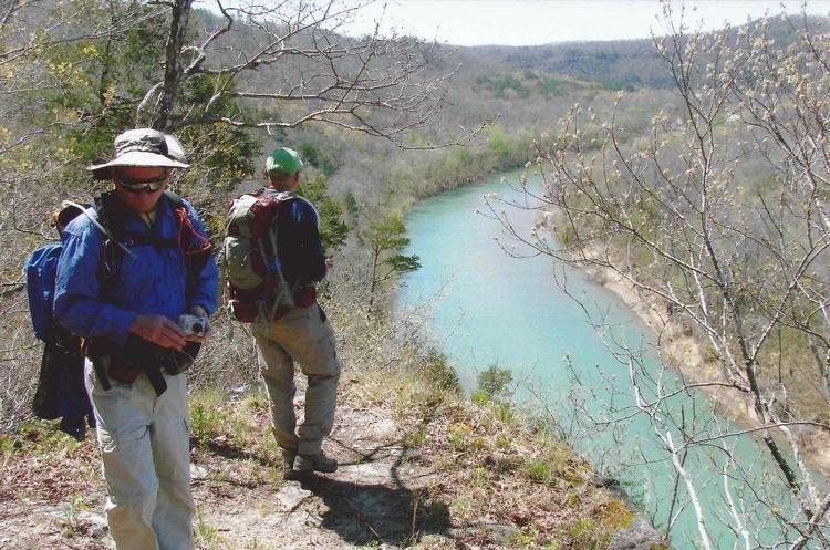 Buffalo River Trail Buffalo River Hiking Trail Completion Near Searcy County Arkansas