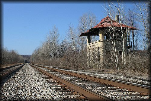 Buffalo, Rochester and Pittsburgh Railway Buffalo Rochester amp Pittsburgh Railway BRampP WI Tower Flickr