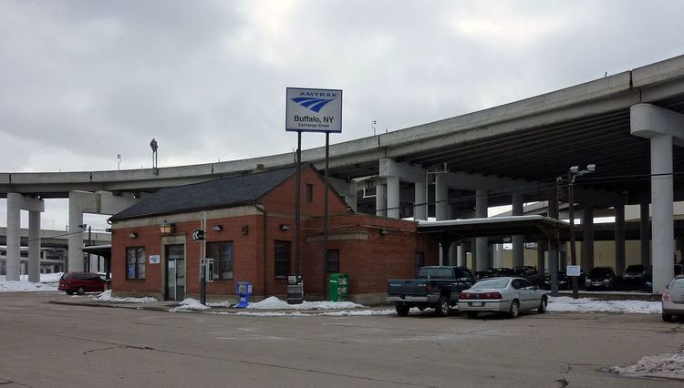 Buffalo–Exchange Street station