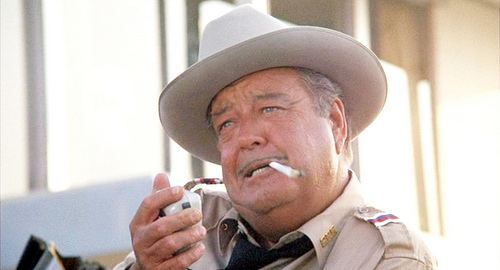 Buford T. Justice Nobody and I mean NOBODY makes Sheriff Buford T Justice look like