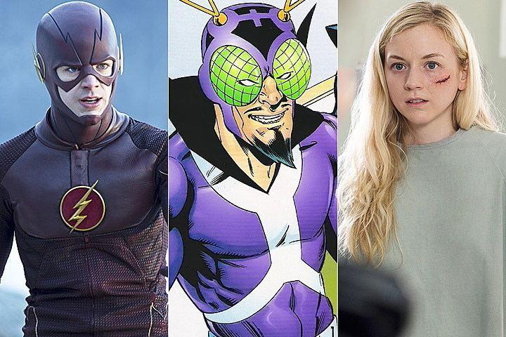 Bug-Eyed Bandit The Flash39 Casts Emily Kinney as BugEyed Bandit