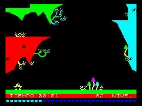 Bugaboo (The Flea) Bugaboo the Flea 19Second Walkthrough ZX Spectrum YouTube