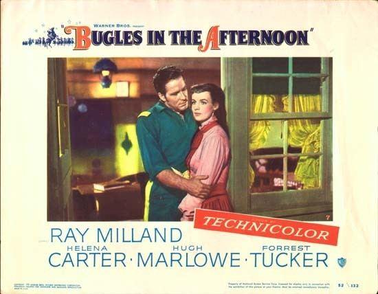 Bugles in the Afternoon Bugles in the Afternoon original US Lobby Card number 7 Movie
