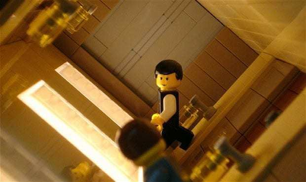 Building a Building movie scenes Film fan Alex Eylar 22 spends hours building Lego models of sets from films he likes Alex a Californian film school student explains I m a movie nerd