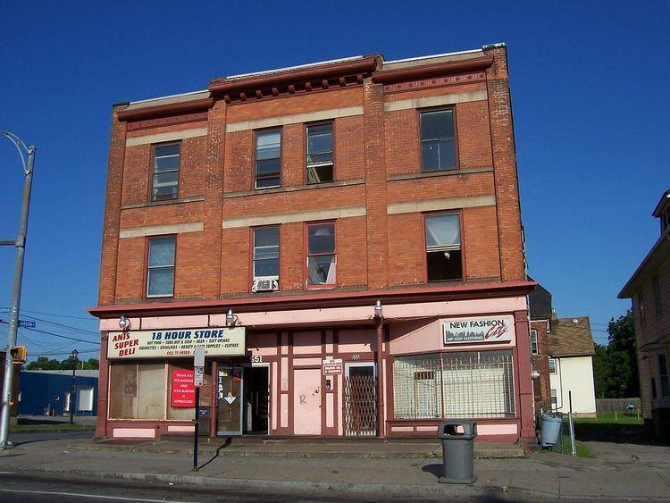 Building at 551-555 North Goodman Street