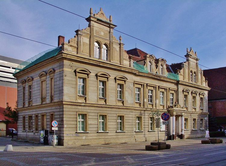 Building of the District Museum in Bydgoszcz