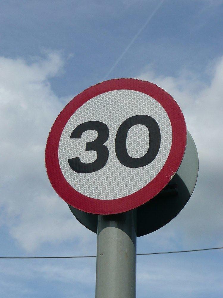 Built-up area (Highway Code)