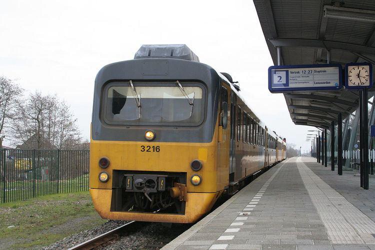 Buitenpost railway station