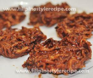 Bukayo Bukayo Filipino Style Recipe