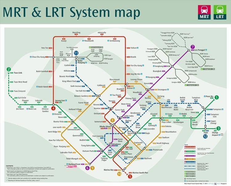 Bukit Panjang LRT Line Bukit Panjang LRTMRT Station BP6DT1 Bukit Panjang Jelebu Road
