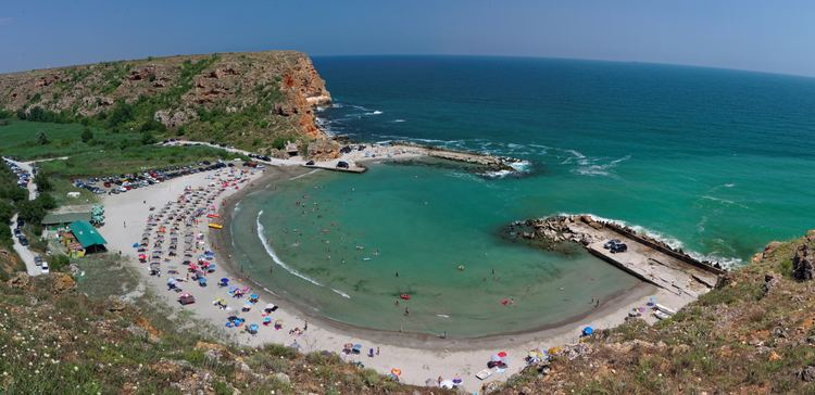 Bulgarian Black Sea Coast FileBolata cove in the Northern Bulgarian Black Sea Coastjpg