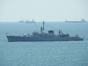 Bulgarian frigate Drazki 41 httpsuploadwikimediaorgwikipediacommonsthu