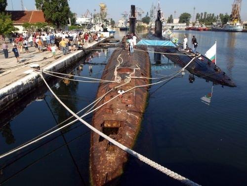Bulgarian Navy Bulgarian Navy Set to Discard Submarine Force Novinitecom Sofia