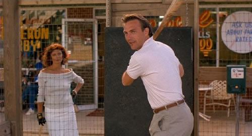 Bull Durham movie scenes Baseball Bull Durham 1988 There is something about baseball that makes it work particularly well in movies My favourite of Kevin Costner s three