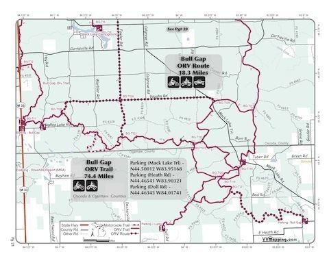 Bull Gap Bull Gap Trail Information VVMappingcom