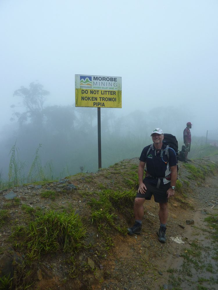 Bulldog Track Hidden Valley mine blocks historic Bulldog track Papua New Guinea