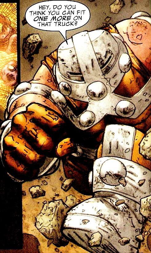 Bulldozer (comics) Bulldozer vs Juggernaut read first Battles Comic Vine