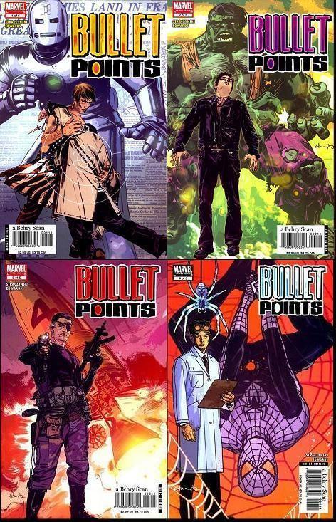 Bullet Points (comics) Bullet Points Comic Book TV Tropes