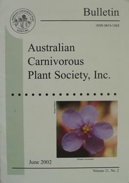 Bulletin of the Australian Carnivorous Plant Society