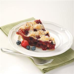 Bumbleberry pie Flaky Bumbleberry Pie Recipe Taste of Home