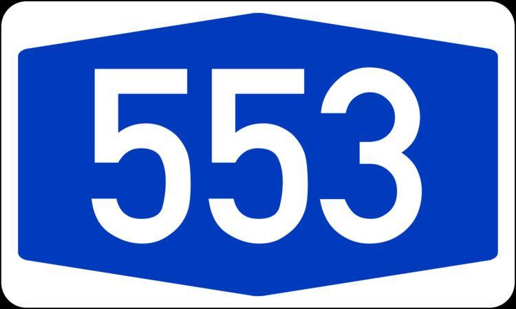 Bundesautobahn 553